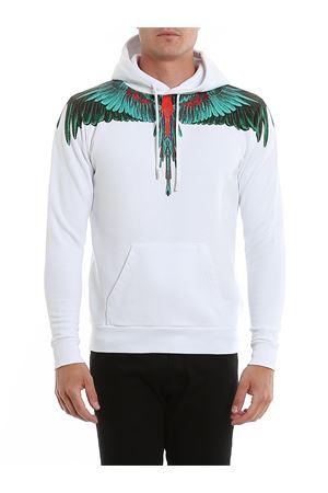 Green Wings Hoodie MARCELO BURLON   -108764232   CMBB007R20FLE0020155