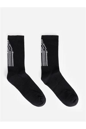 BLACK SOCKS MARCELO BURLON | 33 | CMRA008R20FAB0081001