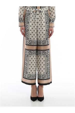Pantaloni in crêpe de Chine di seta 513106076001 MAX MARA | 20000005 | 513106076001
