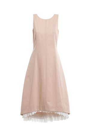 Dress in cotton and linen gabardine MAX MARA | 11 | 522103016001