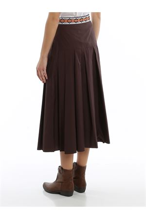 Cotton poplin skirt MAX MARA | 15 | 610105016032