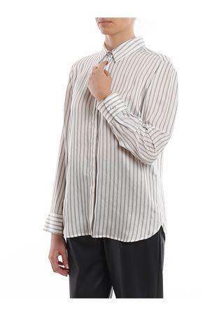 Camicia in raso di viscosa e seta 611103026001 MAX MARA | 6 | 611103026001