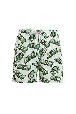 RAINING MONEY RECYCLED FABRIC SWIM SHORTS MC2 SAINT BARTH | 30 | GUSTAVIARNMO01
