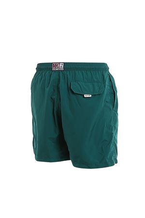 Solid Green Pantone Swim Shorts MC2 SAINT BARTH | 85 | LIGHTINGPANTONE51