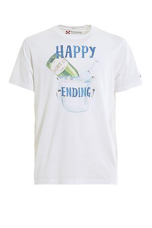 HAPPY ENDING COTTON T-SHIRT MC2 SAINT BARTH | 8 | TSHIRTMANHPEN01