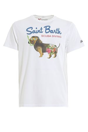 T-SHIRT SAINT BARTH SCUBA DIVING IN COTONE TSHIRTMANSCUD01 MC2 SAINT BARTH | 8 | TSHIRTMANSCUD01