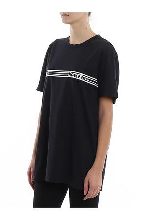Logo stripe cotton jersey T-shirt MONCLER | 8 | 8C707108390T778