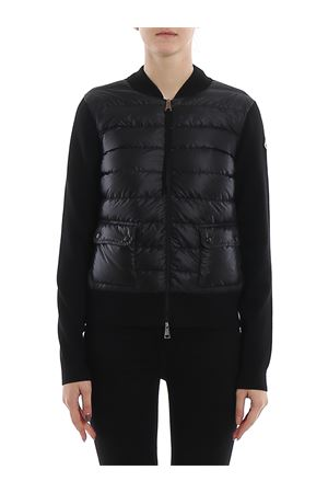 Padded front wool cardigan MONCLER | 39 | 9B50000A9001999