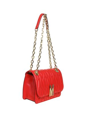 Borsa a tracolla in pelle M Quilted 74518002A1555 MOSCHINO | 70000001 | 74518002A112