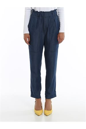 DENIM WIDE LEG PANTS PAOLO FIORILLO CAPRI | 20000005 | 24843078JEANS