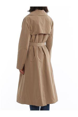 DOUBLE-BREASTED COTTON BLEND TRENCH COAT PAOLO FIORILLO CAPRI | 10000015 | 26222811CAMMELLO