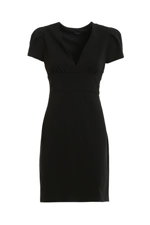 CADY MIDI BLACK DRESS PAOLO FIORILLO CAPRI | 11 | 26312681019