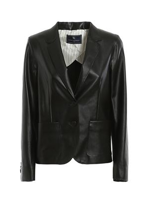 SINGLE-BREASTED ECO LEATHER BLAZER PAOLO FIORILLO CAPRI | 3 | 288921939