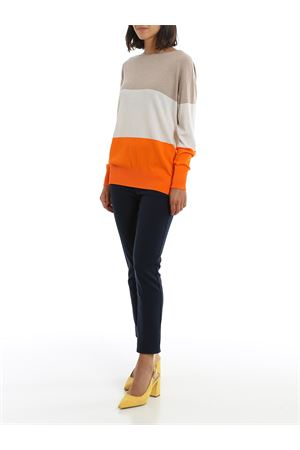 COLOUR BLOCK COTTON BLOUSE PAOLO FIORILLO CAPRI | 7 | 5025414053110
