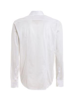 Camicia bianca in jersey di cotone 6012074001001 PAOLO FIORILLO CAPRI   6   6012074001001