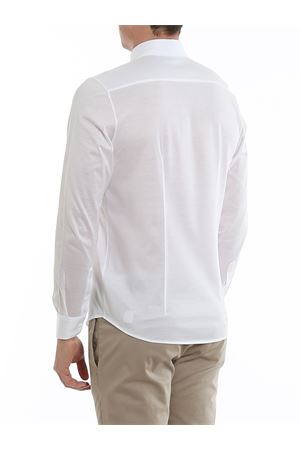Camicia bianca in jersey di cotone 6012074001001 PAOLO FIORILLO CAPRI | 6 | 6012074001001