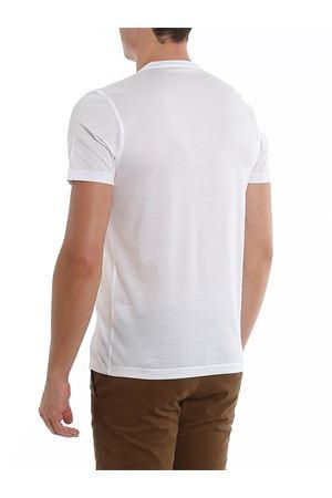 WHITE COTTON T-SHIRT PAOLO FIORILLO CAPRI | 8 | 6015574000001