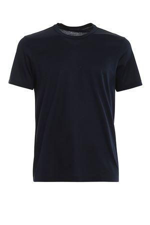 BLUE COTTON T-SHIRT PAOLO FIORILLO CAPRI | 8 | 6015574000598