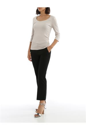 STRETCH COTTON RIBBED T-SHIRT PAOLO FIORILLO CAPRI | 7 | 6021180313048
