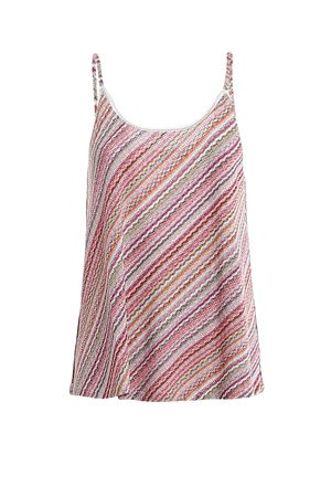 STRIPED KNITTED TOP PAOLO FIORILLO CAPRI | 46 | 6023888704200