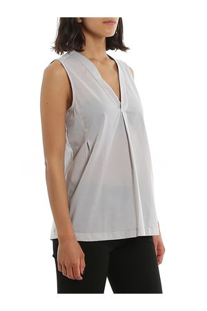 GREY COTTON BLOUSE PAOLO FIORILLO CAPRI | 10000004 | 6120052009053