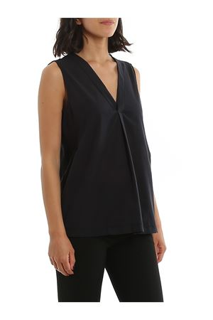 BLACK COTTON BLOUSE PAOLO FIORILLO CAPRI | 10000004 | 6120052009099
