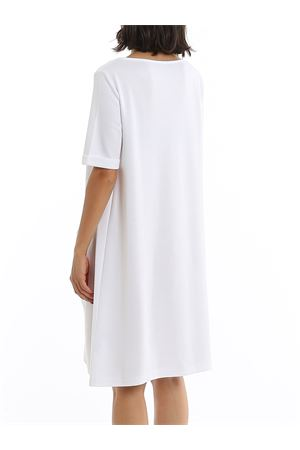 MAXI POCKETS WHITE COTTON DRESS PAOLO FIORILLO CAPRI | 11 | 7220483318001