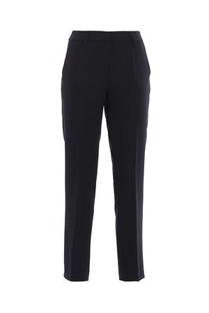 STRETCH FABRIC TROUSERS PAOLO FIORILLO CAPRI | 20000005 | 7849V72234NAVY