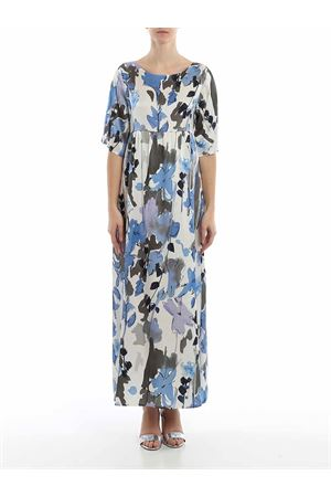 FLORAL PRINT SILK BLEND DRESS PAOLO FIORILLO CAPRI | 11 | 99151200036