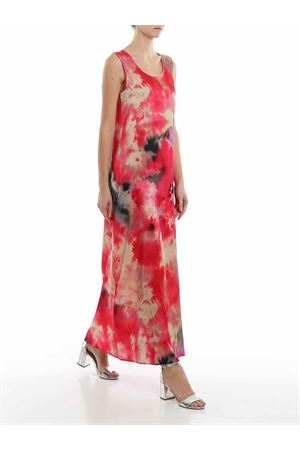 FANTASY PRINT SILK BLEND DRESS PAOLO FIORILLO CAPRI | 11 | 99421200225