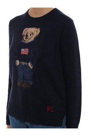 Bear intarsia cotton and linen sweater POLO RALPH LAUREN | 7 | 211698558001