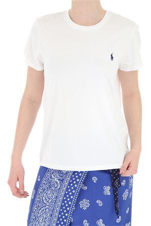 T-shirt in jersey con ricamo logo 211734144001 POLO RALPH LAUREN | 8 | 211734144001