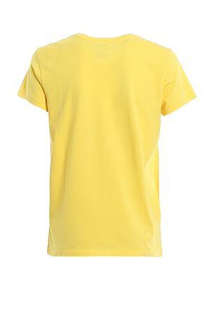 T-shirt gialla in jersey con ricamo logo 211734144021 POLO RALPH LAUREN   8   211734144021