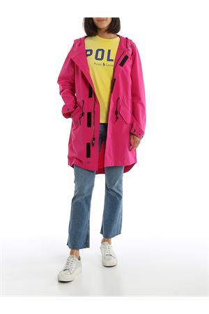 Giacca a vento donna in nylon rosa acceso 211780707003 POLO RALPH LAUREN   3   211780707003