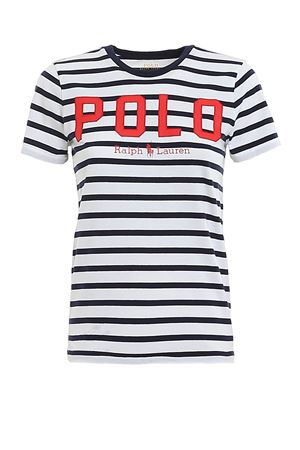 Striped T-shirt with logo POLO RALPH LAUREN | 8 | 211782939001