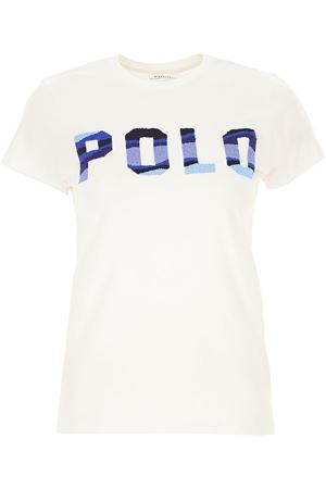 White T-shirt with front logo POLO RALPH LAUREN | 8 | 211784466001