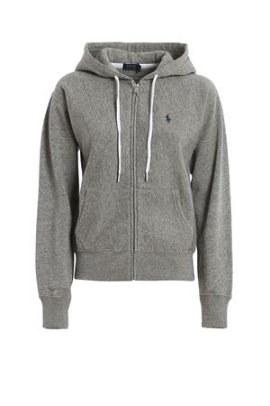 COTTON FLEECE HOODIE POLO RALPH LAUREN | -108764232 | 211794396004