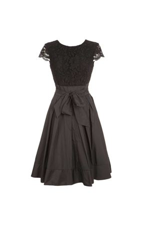 Lace dress with flap sleeves RALPH LAUREN | 11 | 253772920004