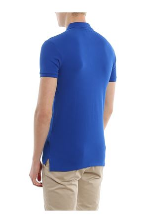 Royal blue slim fit cotton pique polo POLO RALPH LAUREN | 2 | 710536856222
