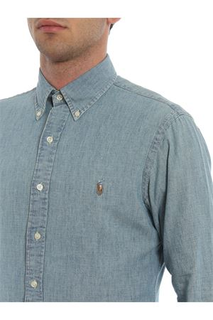 Camicia b/d in denim di cotone 710548538001 POLO RALPH LAUREN | 6 | 710548538001