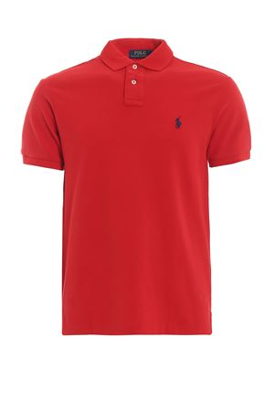 Red pique cotton polo shirt POLO RALPH LAUREN | 2 | 710548797005