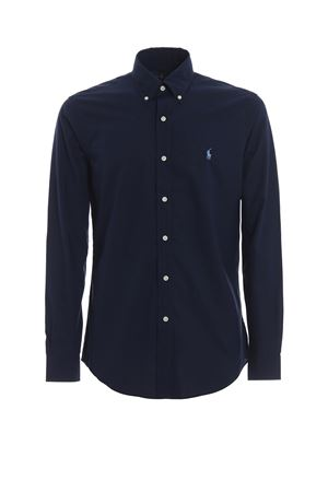 Camicia b/d in cotone blu 710705269006 POLO RALPH LAUREN | 6 | 710705269006