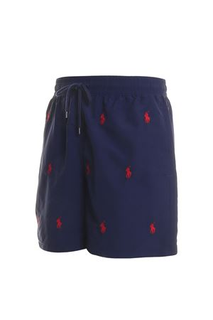 All over logo embroidery swim shorts POLO RALPH LAUREN | 85 | 710739102003