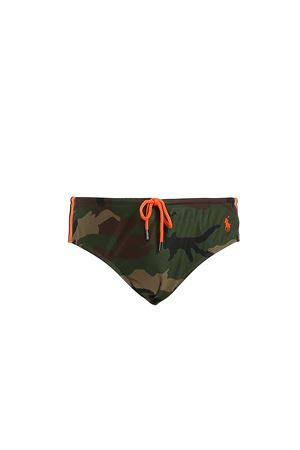 SPEEDOS CAMOU WITH LOGO EMBROIDERY  POLO RALPH LAUREN | 85 | 710739220008