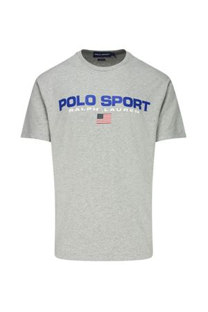 T-SHIRT GRIGIA CON STAMPA  710750444007 POLO RALPH LAUREN | 8 | 710750444007