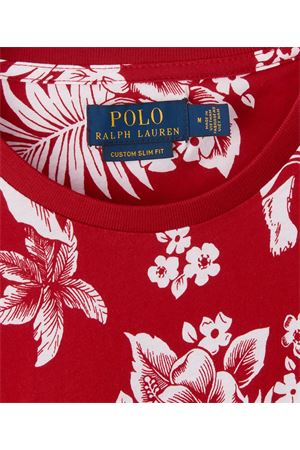 T-shirt floreale con tasca applicata 710788945002 POLO RALPH LAUREN | 8 | 710788945002