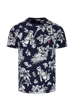 T-shirt floreale con tasca applicata 710788945003 POLO RALPH LAUREN | 8 | 710788945003