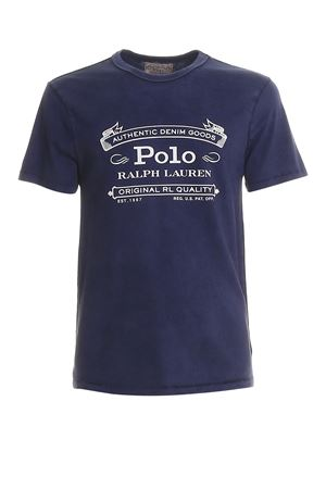 T-shirt in jersey con stampa logo vintage 710795143002 POLO RALPH LAUREN | 8 | 710795143002