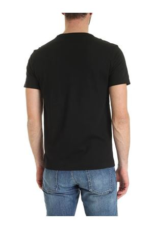 T-shirt nera con maxi stampa logo 710796092001 POLO RALPH LAUREN | 8 | 710796092001
