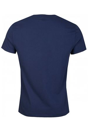 T-shirt navy con maxi stampa logo 710796092003 POLO RALPH LAUREN | 8 | 710796092003